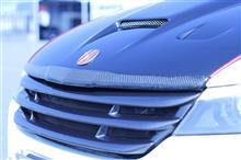 ストリームTWES-iF / オートステージフォルテ ボンネットリップ(カーボン)の単体画像