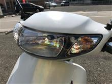 ライブディオZXメーカー不明 ワンオフヘッドライトユニットの単体画像