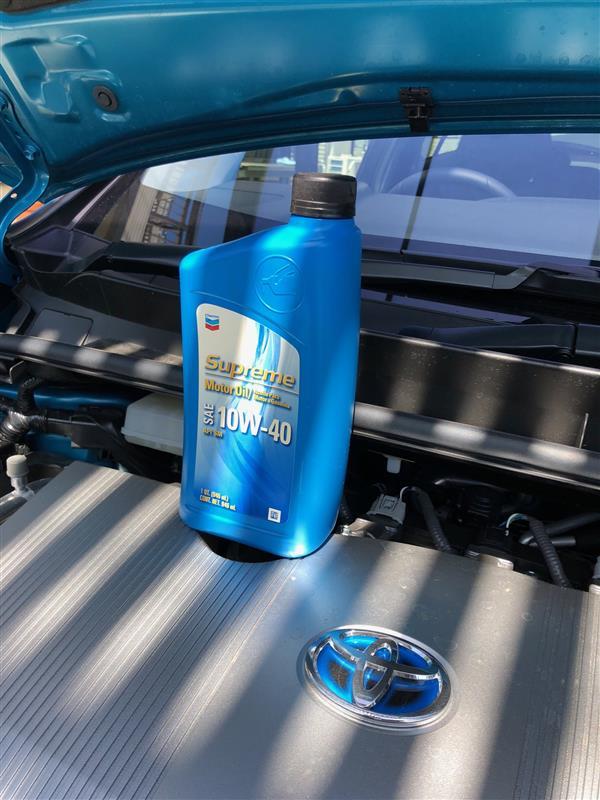 Chevron Surpreme 10W-40