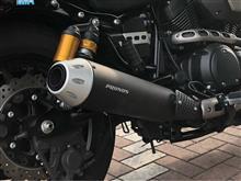 ボルト CスペックY'S GEAR (サクラ工業(株)) PRUNUS スリップオンマフラーの単体画像