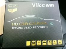 Vikcam  ドライブレコーダー 1080PフルHD 170°広角 内蔵WiFi 動き検知 G-センサー ループ録画 WDR&HDR機能 駐車監視機能搭載
