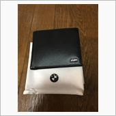 BMW(純正) (日本未発売) M ウォレット ブラック レザー 財布