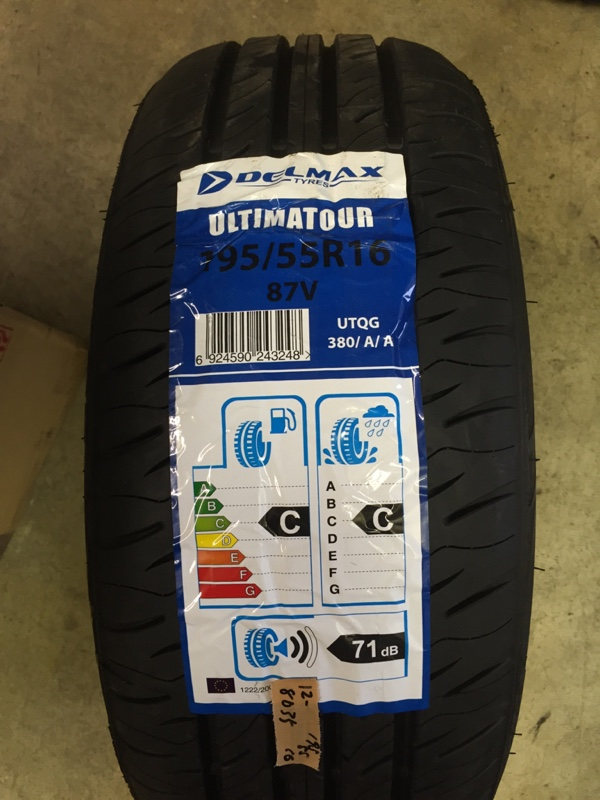 DELMAX ULTIMATOUR 195/55 R16 87V