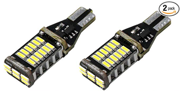 Alla Lighting 912 921 LED Backup Light Bulbs Super Bright