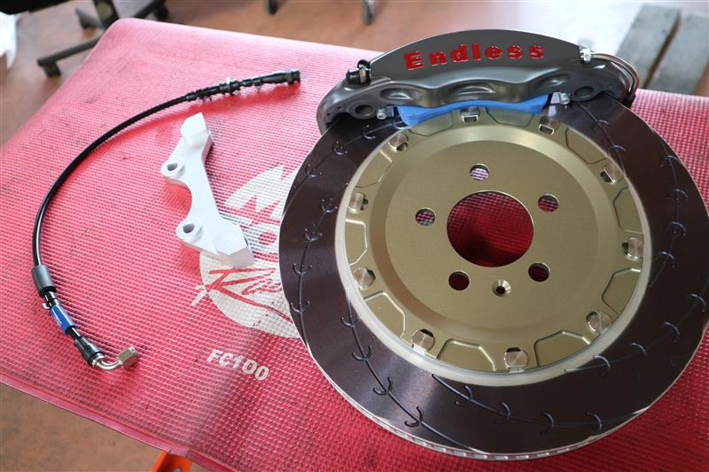 ENDLESS MONO4RACING for AUDI S1 with Jfactory