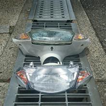 JOG ZR Evolution (エボリューション)ノーブランド リモコンジョグ ヘッドライト ウインカー一式の単体画像