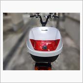 Velocity BIKE REARBOX 28L ホワイト