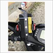 DAYTONA(バイク) バイク用 スマートフォンホルダーWIDE IH-550D リジット 92601