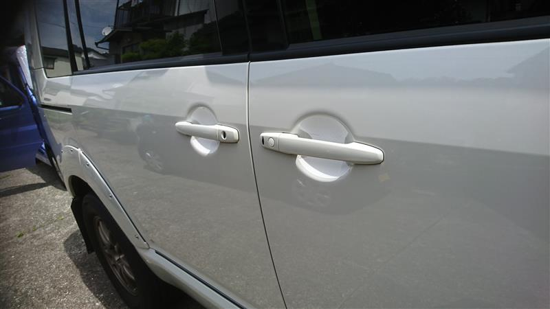 AP ドアハンドルインナーステッカー カーボン調