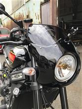 XSR900Funny`s custom servis ビキニカウルの全体画像