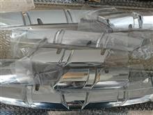 カジャーQimeix kadjar フロントグリルグリッドカバー クロームトリムの全体画像