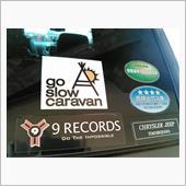 go slow caravan 外遊びステッカー