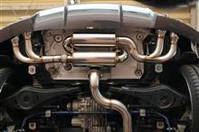 TT クーペirom(アイロム) アイロムエキゾーストシステム(特注品)の全体画像