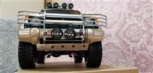 パジェロ三菱自動車(純正) スキッドプレートの全体画像