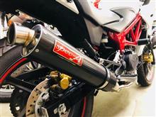 VTR-Fヤマモトレーシング スペックAフルエキゾーストマフラーの単体画像