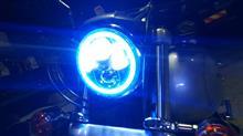 ダイナ ローライダー不明 5.75インチ LEDプロジェクター RGBイカリングの全体画像