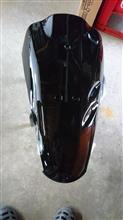Live Dio ZX (ライブディオZX)不明 バイクパーツセンター 外装セット ブラック 塗装済み 純正タイプ ホンダ ライブDio ZX AF35 1型の単体画像