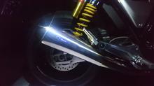 CB1100RSr's gear ワイバンクラシックチタン ツインタイプマフラー17〜 CB1100 RS/EX用の単体画像