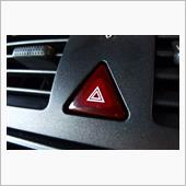 VW  / フォルクスワーゲン純正 チェリー/ダークチェリー ハザードスイッチ