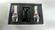 RV125iSafego LEDヘッドライトの全体画像