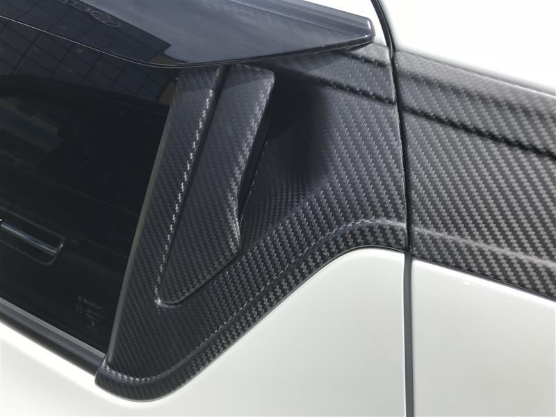AXIS-PARTS ドライカーボン製 アウタードアハンドルベゼル 4点セット/st391