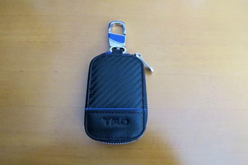 TRD / トヨタテクノクラフト カーボン調スマートキーケース