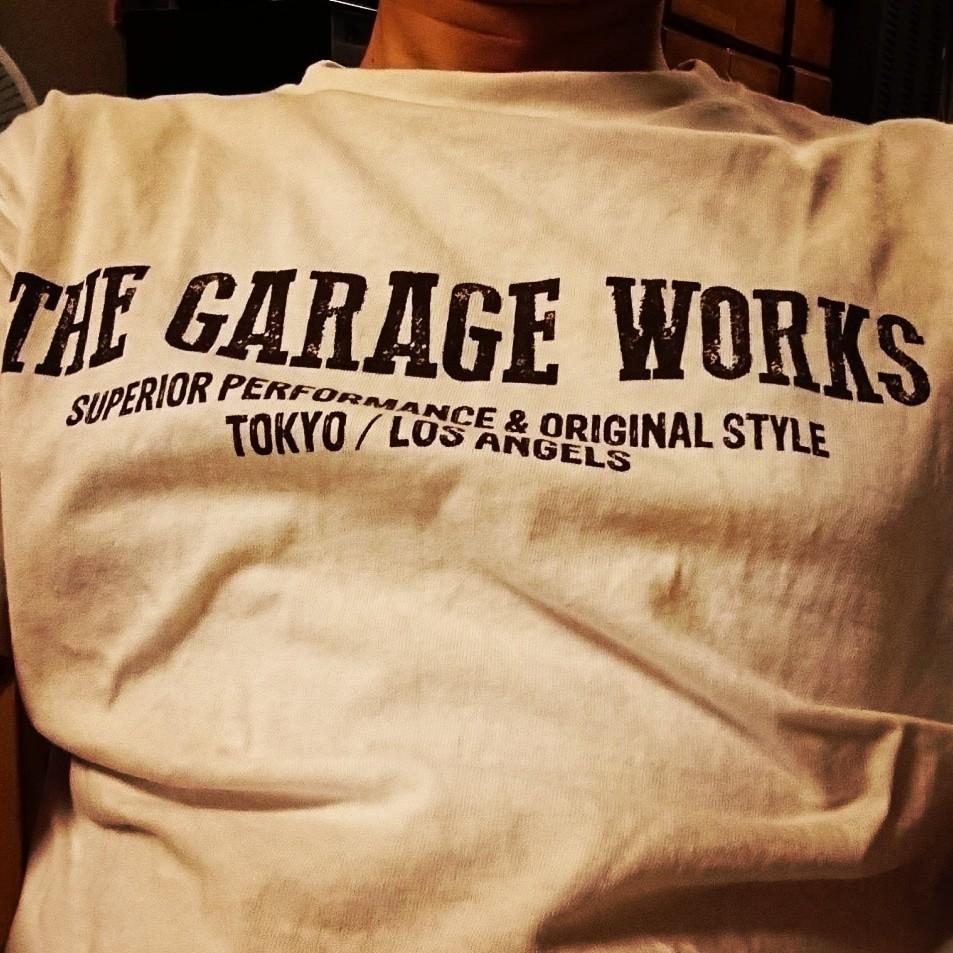 the garage works オリジナルTシャツ