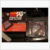 K&N HIGH-FLOW AIR FILTER
