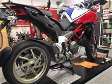 ムルティストラーダ1200Sマルケジーニ ドカ純正 1098S用鍛造ホイールの単体画像