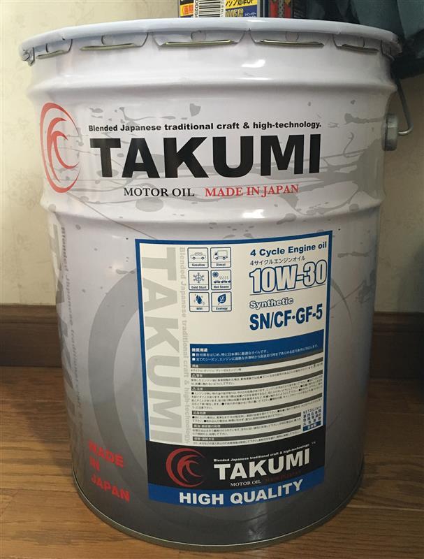 TAKUMIモーターオイル/AKTジャパン HIGH QUALITY 10W-30