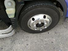 キャンターアルコア トラック用アルミホイールの単体画像