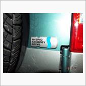 トヨタ車体(純正) HYBRID SYNERGY DRIVE プレートエンブレム