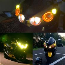 ZZR1400メーカー不明 オールインワン ヒートリボン式LED 色温度3切替の全体画像