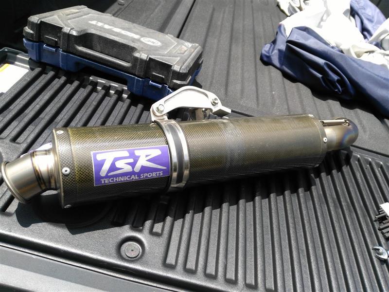 Garage TSR Titanium+Muffler