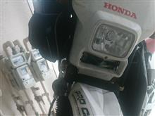 CRM50DMR-JAPANとRTD リフレクターとLEDヘッドライトの単体画像