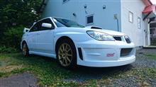 インプレッサ WRX STIないる屋 WRC07バンパーの全体画像