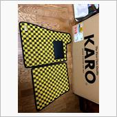 KARO SISAL イエロー/ブラック