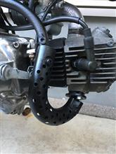 モンキー  Z50J-Iホンダ(純正) 6V 5L用モンキー純正マフラーの全体画像