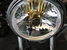VTR250Street Cat バイク用LEDヘッドライトの単体画像