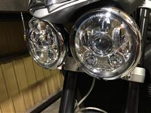 ストリートトリプルSILIVN LED プロジェクターヘッドライトの単体画像