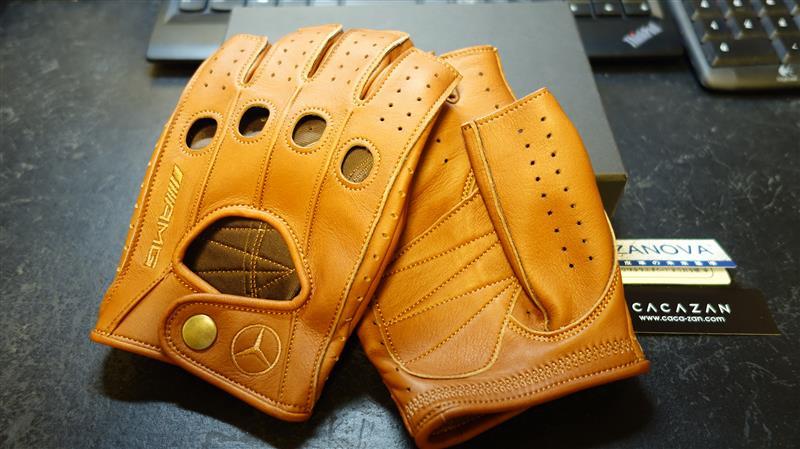 CACAZAN / イズイシ手袋 SDR-070 CARAMEL