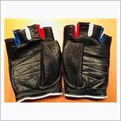 CACAZAN / イズイシ手袋 トリコロール