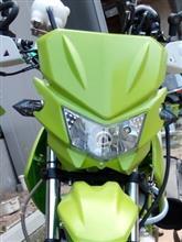 XR50 モタード中華製 KLX250風ヘッドライトの単体画像
