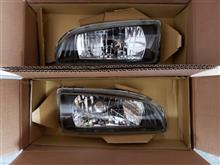インプレッサリトナDEPO クリスタルヘッドライト(ブラックインナー)の単体画像