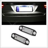 メーカー・ブランド不明 2Pcs Car LED License Plate Lights For Volvo