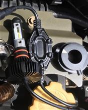 R1SUNPIE H4 Hi/Lo LEDヘッドライト 車検対応 PHILIPS高品質チップ搭載 高輝度 長寿命 8000Lm6500kの単体画像