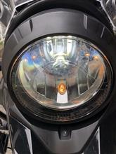 V-Strom 250e-auto fun SUPER BRIGHT LED HEADLIGHTの全体画像