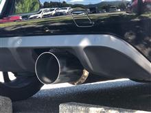 DS3ワンオフ 砲弾マフラーの全体画像