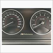 BMW M PERFORMANCE Mパフォーマンス表示