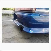 CAR MAKE T&E / ティーアンドイー VERTEX リヤハーフスポイラー